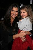 Ali Landry and daughter at the