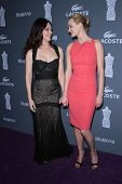Madeleine Stowe, Amber Valletta at the 14th Annual Costume Designers Guild Awards, Beverly Hilton Hotel, Beverly Hills, CA 02-21-12
