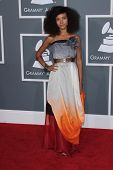 Esperanza Spalding at the 54th Annual Grammy Awards, Staples Center, Los Angeles, CA 02-12-12