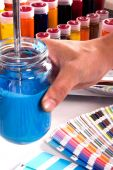 ink mixing