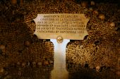 foto of catacombs  - Inside the Catacombs of Paris - JPG