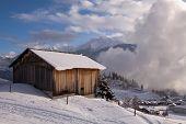 Alpine Wood Hut