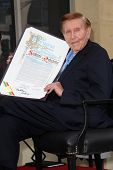 Sumner Redstone at the Sumner Redstone Star on the Hollywood Walk of Fame Ceremony, Hollywood, CA 03-30-12