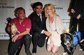 Cesar Millan, Tony Cardenas and Katherine Heigl at a Press Conference For JDHF Animal Advocacy, Four