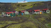 Emstrur (Botnar) Hut Landmannalaugar Trail Laugavegurinn Iceland