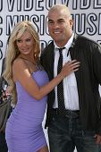 Jenna Jameson and Tito Ortiz at the 2010 MTV Video Music Awards, Nokia Theatre L.A. LIVE, Los Angeles, CA. 08-12-10