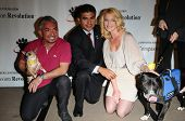 Cesar Millan, Tony Cardenas and Katherine Heigl  at a Press Conference For JDHF Animal Advocacy, Four Seasons Hotel, Beverly Hills, CA. 09-23-10