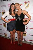 Amy Franco and Nicole Franco  at the Boobs and Blood International Film Festival Opening Night, New Beverly Cinema, Los Angeles, CA. 09-24-10