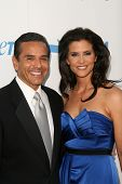 Antonio Villaraigosa and Lu Parker at PETA's 30th Anniversary Gala and Humanitarian Awards, Hollywood Palladium, Hollywood, CA. 09-25-10