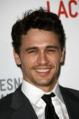 James Franco at LACMA presents
