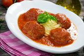 Meatballs and Mashed Potato