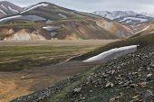 Landmannalaugar track, Iceland