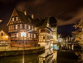 picture of alsatian  - Alsatian style houses in Petite France area of Strasbourg