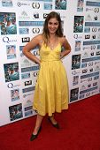Caitlin Wachs at a screening of