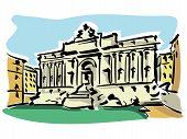 Rome (Trevi Fountain)