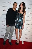 Cora Skinner and Evan Ross at the Verizon/HTC Incredible Cabaret Event, Voyeur, West Hollywood, CA. 11-04-10