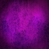 elegant purple pink and blue background with black border and vintage grunge texture