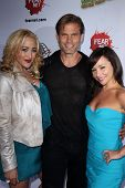 Jennifer Blanc, Casper Van Dien, Danielle Harris at the