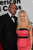 Hank Baskett, Kendra Wilkinson at the Red Cross Red Tie Affair 2012, Fairmont Miramar Hotel, Santa M