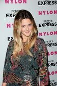 Drew Barrymore at Nylon Magazine and Express Present The Denim Issue Party, The London, Los Angeles, CA. 08-10-10