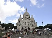 PARIS,FRANCE-AUGUST19-Basilica Sacre Coeur in Paris
