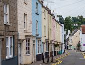 Colored Houses In Chepstow