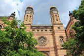 stock photo of synagogue  - Budapest Hungary  - JPG