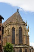 St Martin's Church. Colmar, France