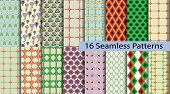 16 Model Seamless Patterns