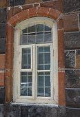 Window Decorated With Tuff