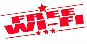Free Wi-fi Stamp
