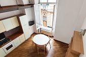 interior home, nice domestic kitchen