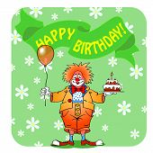 Happy Birthday Clown03