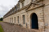Main Entrance Of Corderie Royale In Rochefort