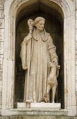 Saint Giles Statue, London