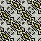 Black And White Background Pattern Made Of Common Gull Butterfly's Wing Skin