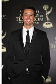 LOS ANGELES - JUN 22:  Matthew Atkinson at the 2014 Daytime Emmy Awards Arrivals at the Beverly Hilt
