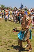 Unidentified Native American dancer at the NYC Pow Wow