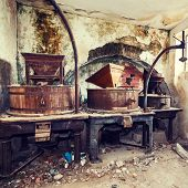 Vintage Old Abandoned Winery