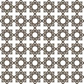 Abstract vector background Seamless geometric kazakh ornament