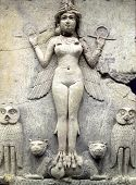 Ancient Babylonian figure Queen of the Night