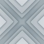 Abstract gray and white triangle shapes background