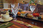 Elegant Thanksgiving Dinner Table
