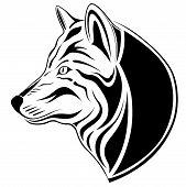 Wolf, tattoo