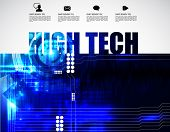 High-tech background, vector