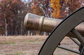 Cannon on Ball's Bluff Battlefield