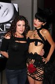 LOS ANGELES - NOV 21:  Tiffany Shepis, Bai Ling at the