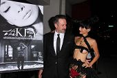 LOS ANGELES - NOV 21:  David Arquette, Bai Ling at the
