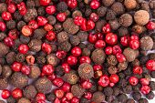 Red and black peppercorn
