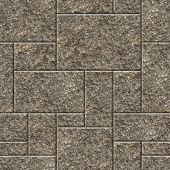 Seamless granite wall background.